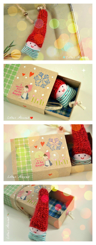 Mini elf | Schachteln | Pinterest | Streichholzschachteln, Zwerg und ...