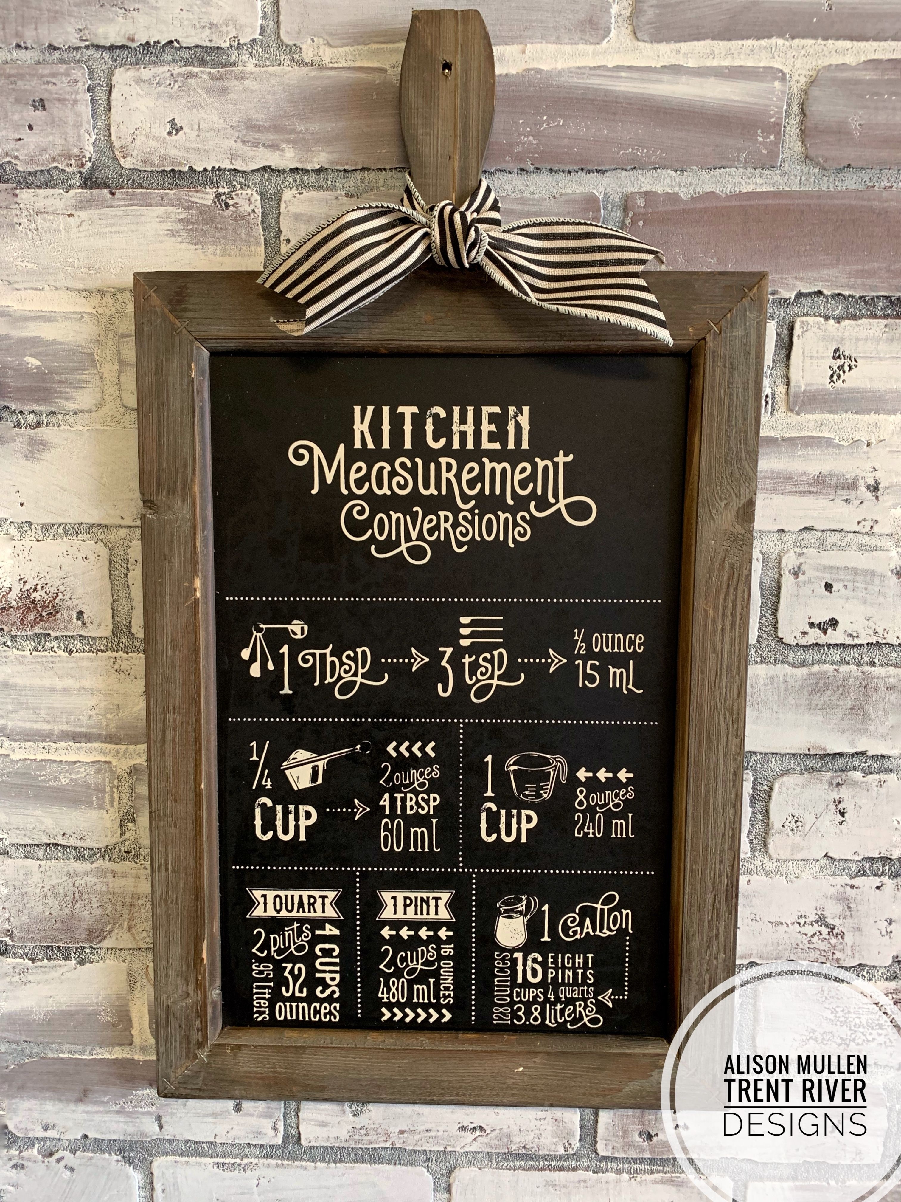 this new chalk couture kitchen measurement transfer fits perfectly rh pinterest com