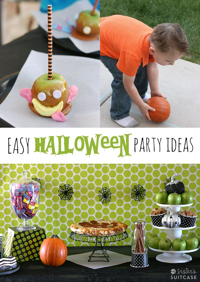 Candy Caramel Apples and Halloween Party Ideas Celebrate - halloween party ideas for kids