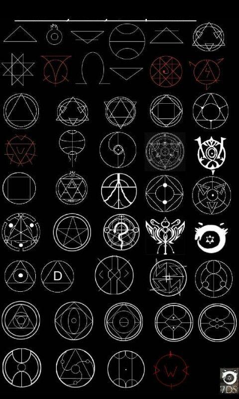Fullmetal Alchemist Brotherhood Alchemyz In 2018 Pinterest