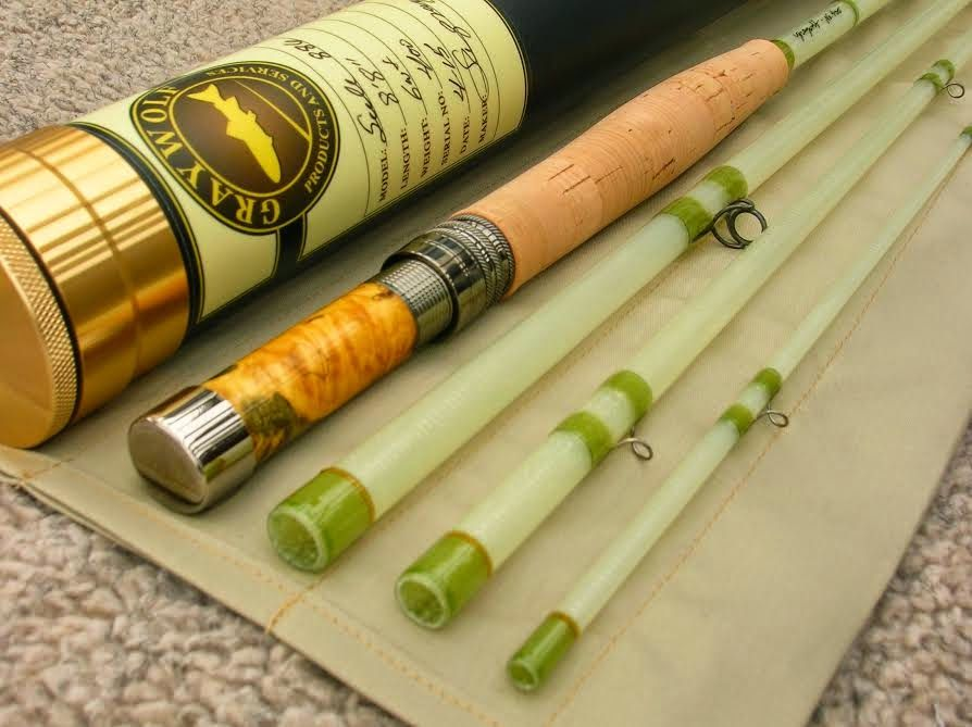 The fiberglass manifesto graywolf rods seele fly rods for Fiberglass fishing rods