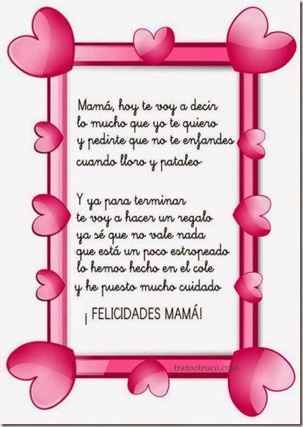 Poesias Para El Dia De La Madre Para Niños De Primaria Buscar Con Google Mother S Day Diy Mommy Quotes Live Lokai Bracelet