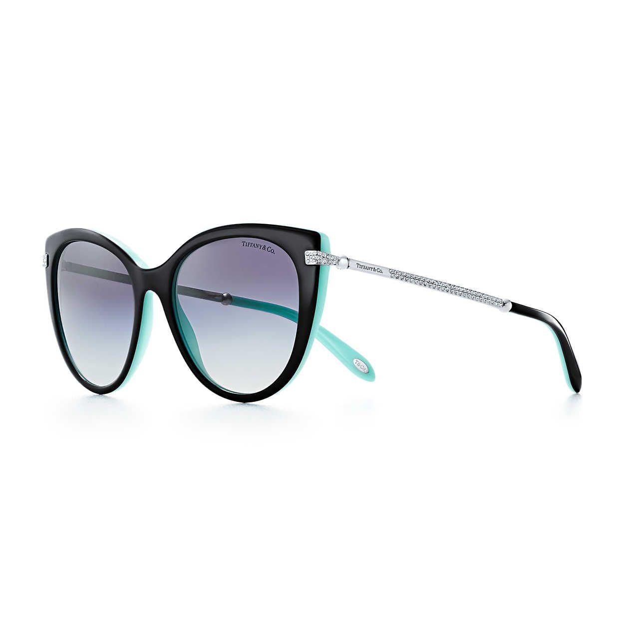 49999ca417273 Tiffany HardWear:Cat Eye Sunglasses in 2019 | summer time | Tiffany ...