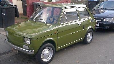 ebay 1975 fiat 126 chrome bumpers years mot uk registered kkh rh pinterest co uk