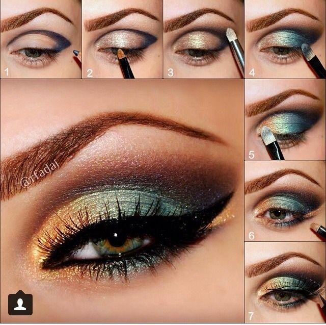 Wie man Ocean Inspired Eye Makeup erstellt
