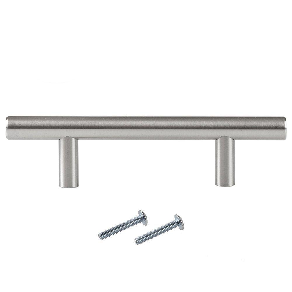 satin nickel kitchen cabinet pulls 3 inch bar 5 pack of kitchen rh pinterest com