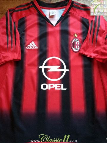reputable site 38b6b 70ad1 Relive AC Milan's 2004/2005 season with this vintage Adidas ...