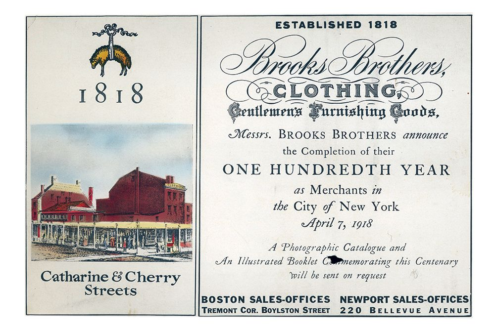 The Hidden (in Virginia) Story of Brooks Brothers | My Little Bird