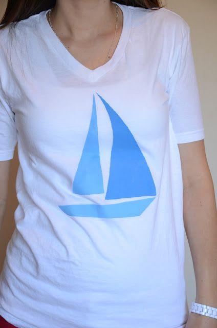 Merricks Art: Sailboat Tee Tutorial