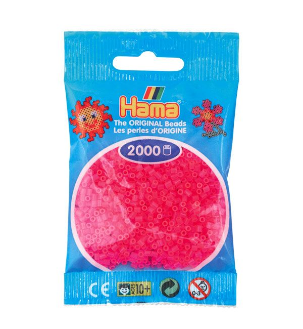 Transparent Glitter Mix 1000 Perlen HAMA Bügelperlen Midi