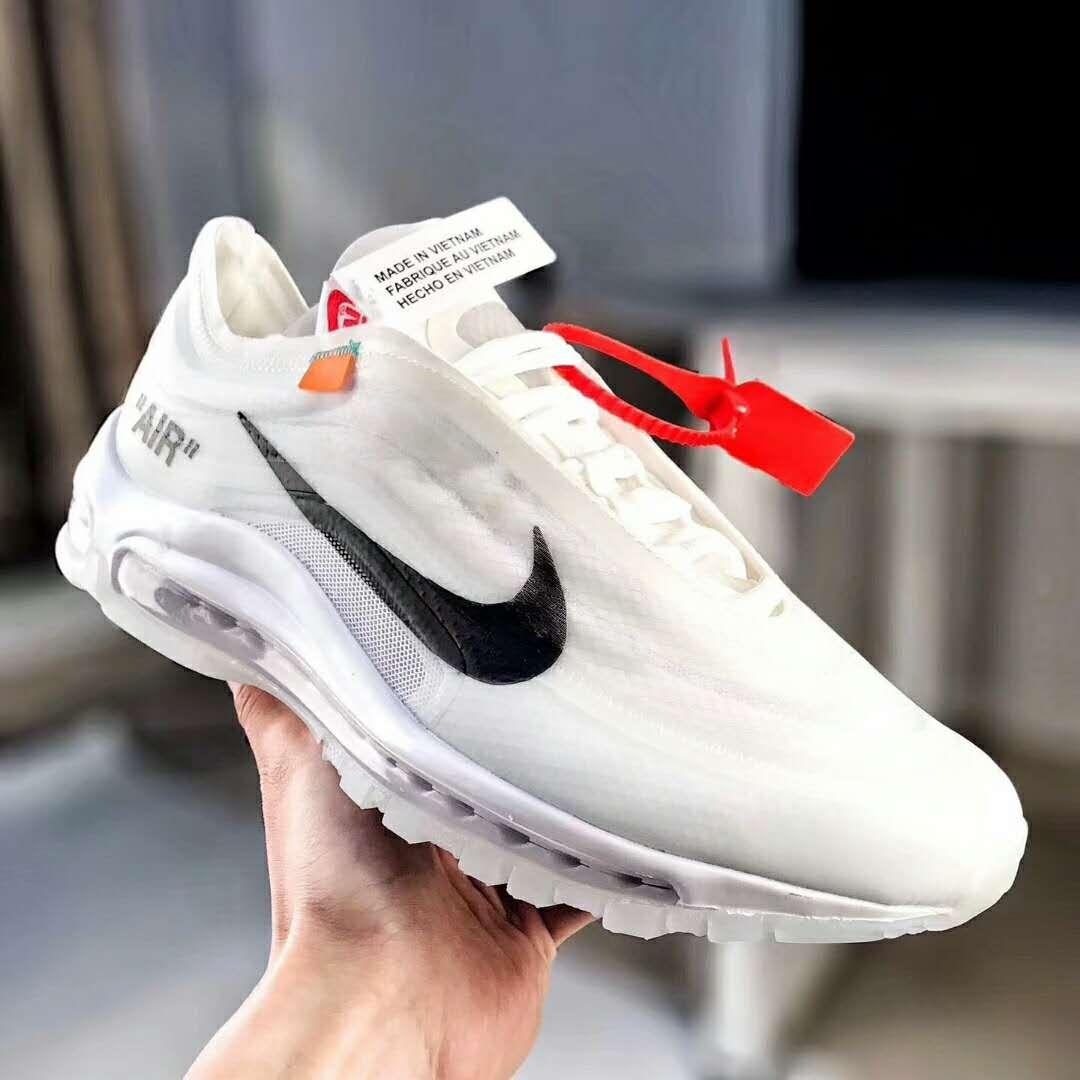 Off White X Nike Air Max 97 Aj4585 100 Tenis Sapato Sapatos Tenis
