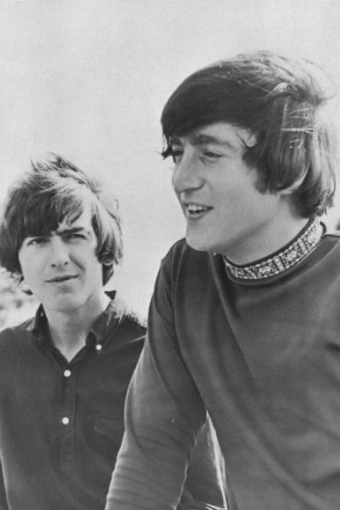 John Lennon And George Harrison Source Facebook Pages U R Wonderful I Love You 117953921593879frefts