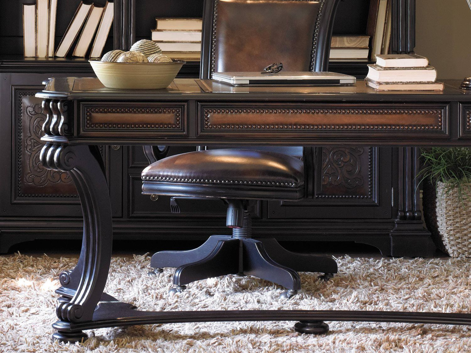 hooker furniture telluride black with reddish brown 66 l x 32 w rh pinterest com
