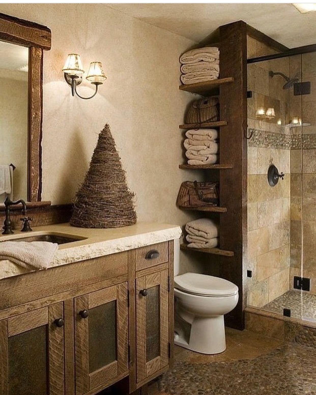 Best Kitchen Gallery: Pin By Joshua J Cadwell On Home Decor Pinterest Master Bath of Rustic Bathroom Design  on rachelxblog.com
