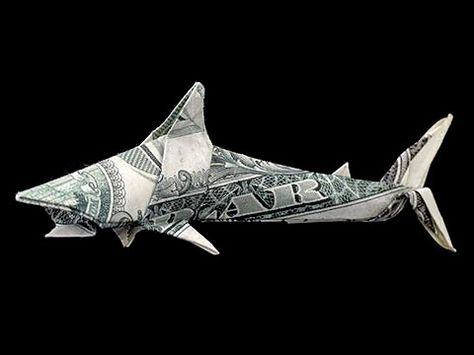 How To Fold Money Into A Fish