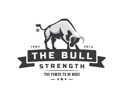 The Bull Bull Logo Logos Design Logo Branding Identity