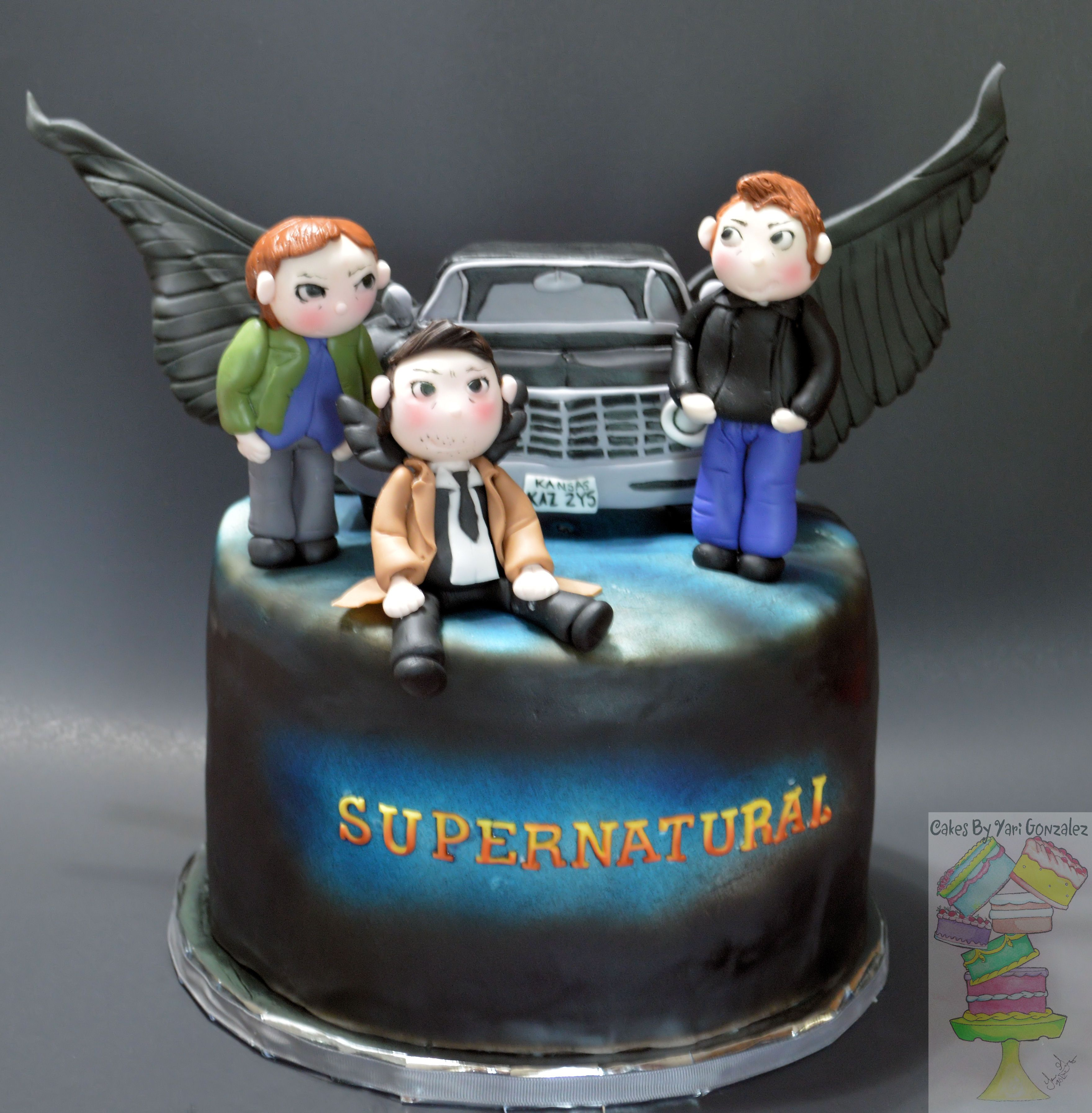 Supernatural Car Cake Topper
