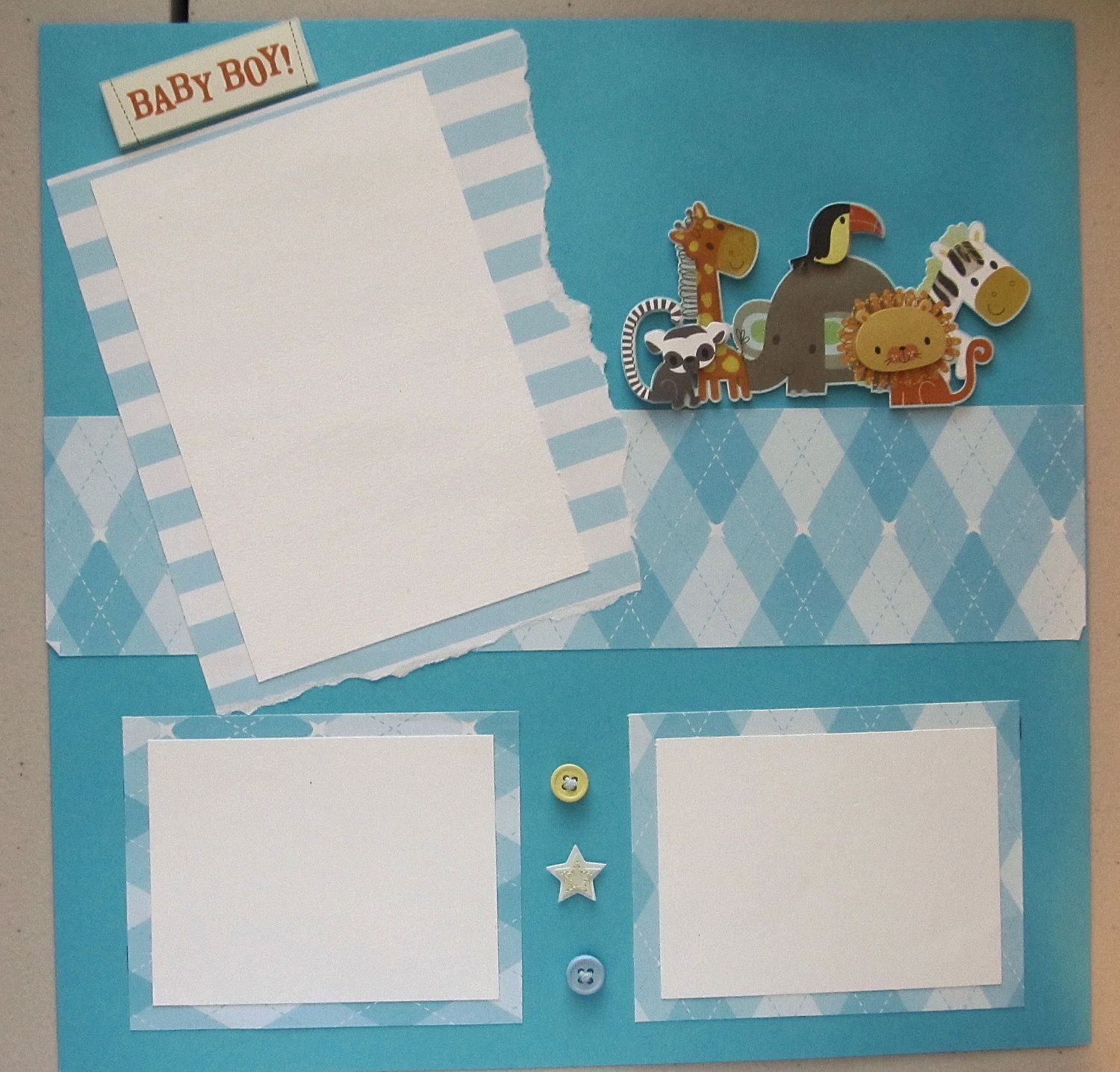 Scrapbook Layouts For Babies Images Craftsewing Ideas Pinterest