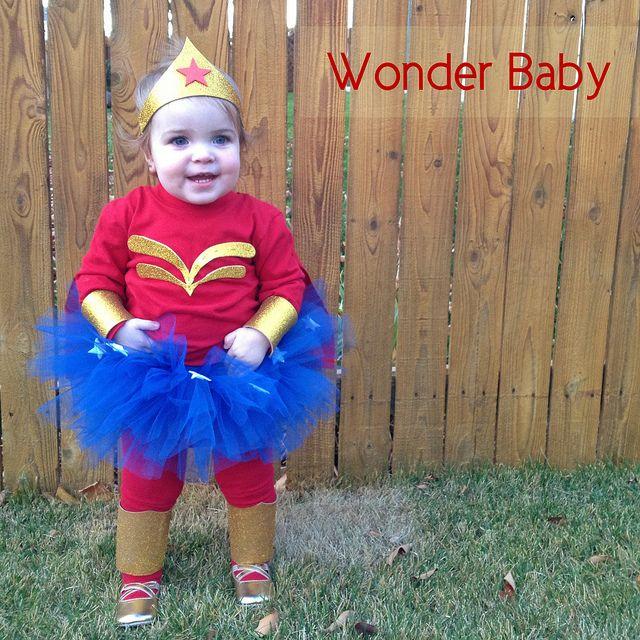 Wonder Baby in all her glory! Cosas lindas y Cosas - trajes de halloween para bebes