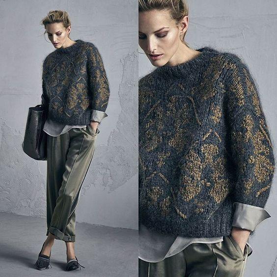 100 модных идей: свитера, кофты и джемпера 2017 года на ...