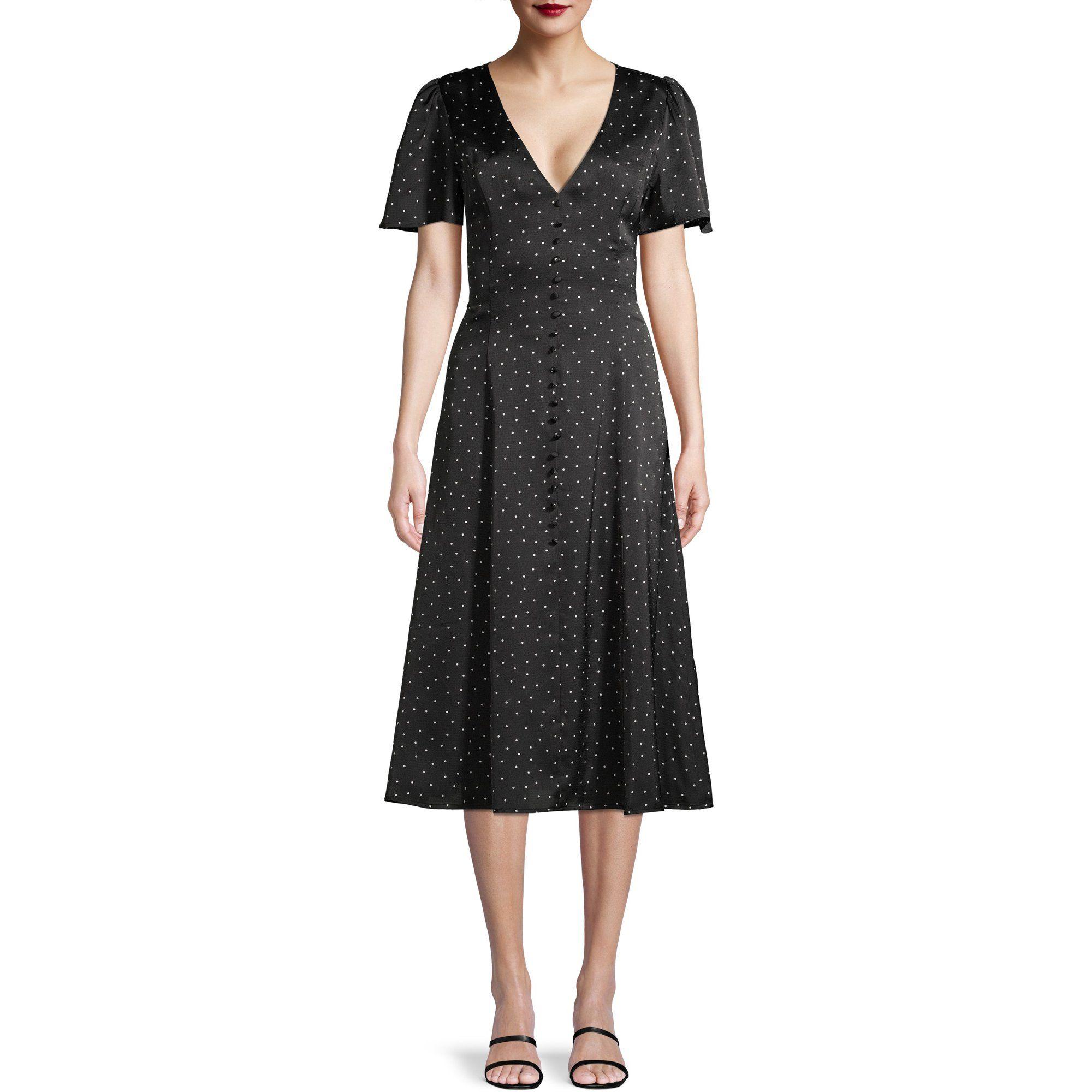 Prospect The Label Prospect The Label Women S Button Front Midi Dress Walmart Com Dresses Midi Dress Short Sleeve Dresses [ 2000 x 2000 Pixel ]
