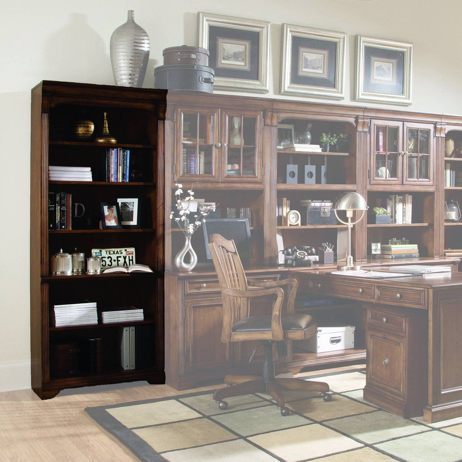 hooker furniture brookhaven tall bookcase 281 10 422 products rh in pinterest com