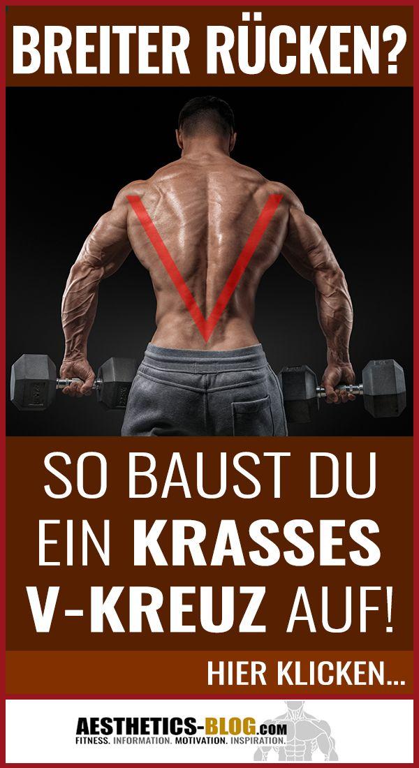 Photo of Breiter Rücken? So baust Du ein krasses V-Kreuz auf