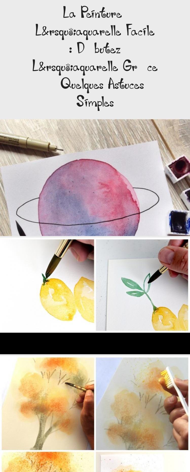 La Peinture A L Aquarelle Facile Debutez L Aquarelle Grace A