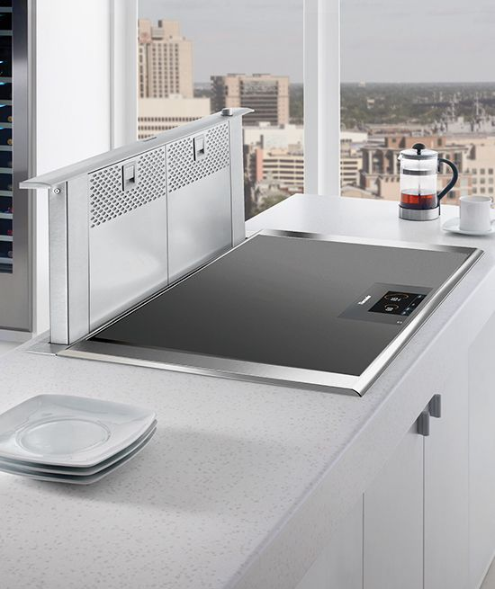 downdraft ventilation for cooktops stovetops apartment kitchen rh pinterest co uk
