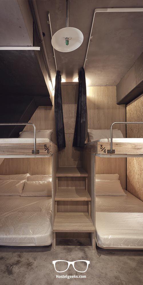 Hualien Wow Hostel In Taiwan  U2013 Industrial Design Meets 3d
