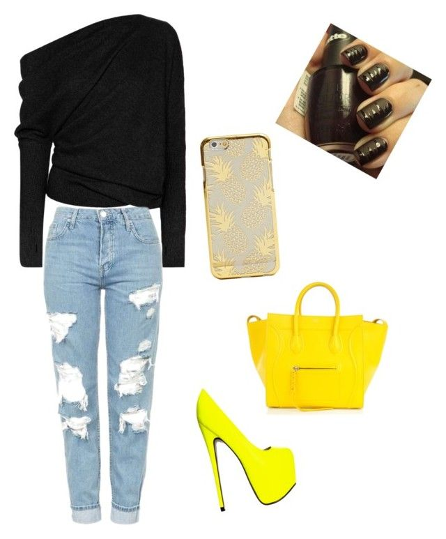 """""""fosforecente"""" by pacarola on Polyvore featuring Tom Ford and Topshop"""