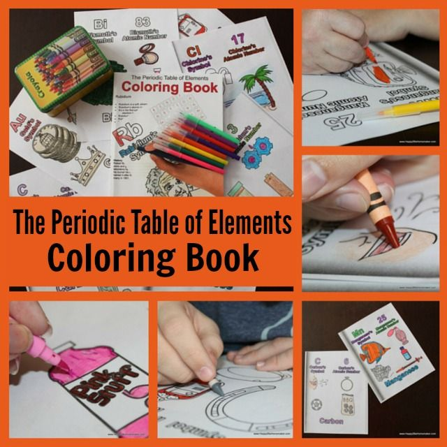 The periodic table of elements coloring book a fun review from www the periodic table of elements coloring book a fun review from happy2bahomemaker urtaz Choice Image