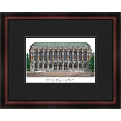 Campus Images Academic Lithograph Picture Frame NCAA Team: