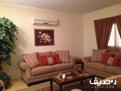 شقة مؤثثة للبيع حي النخيل الغربي Home Decor Furniture Home