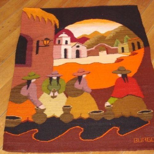 GT-Tapices Tinta Pintura Tapiz Ciruelo Japon/és Impresi/ón 3D Lona Tapicer/ía Manta de la Pared Sal/ón Dormitorio Decoraci/ón Tela Fondo Toalla de Playa Color : D, Size : 130 * 150cm
