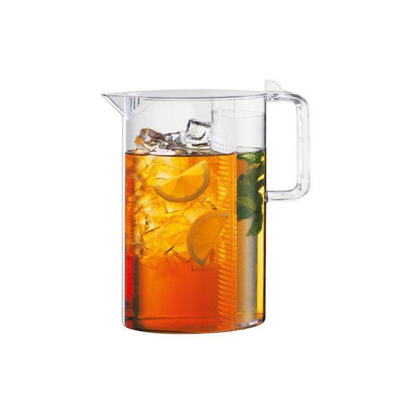 Bodum - Ceylon Ice Tea Maker ($39) ❤ liked on Polyvore featuring home, kitchen & dining, kitchen gadgets & tools, carafes, jugs, bodum, bodum iced tea maker and iced tea maker