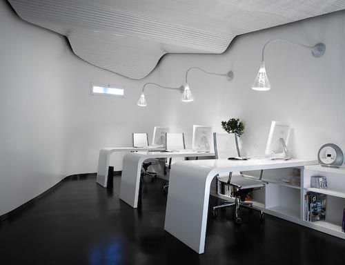 Futuristic Modern Office Interior Design Space Modern office