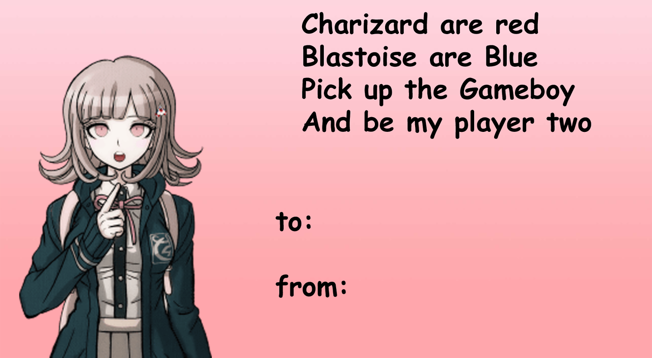 dangan ronpa valentines - Google Search | Dangan Ronpa