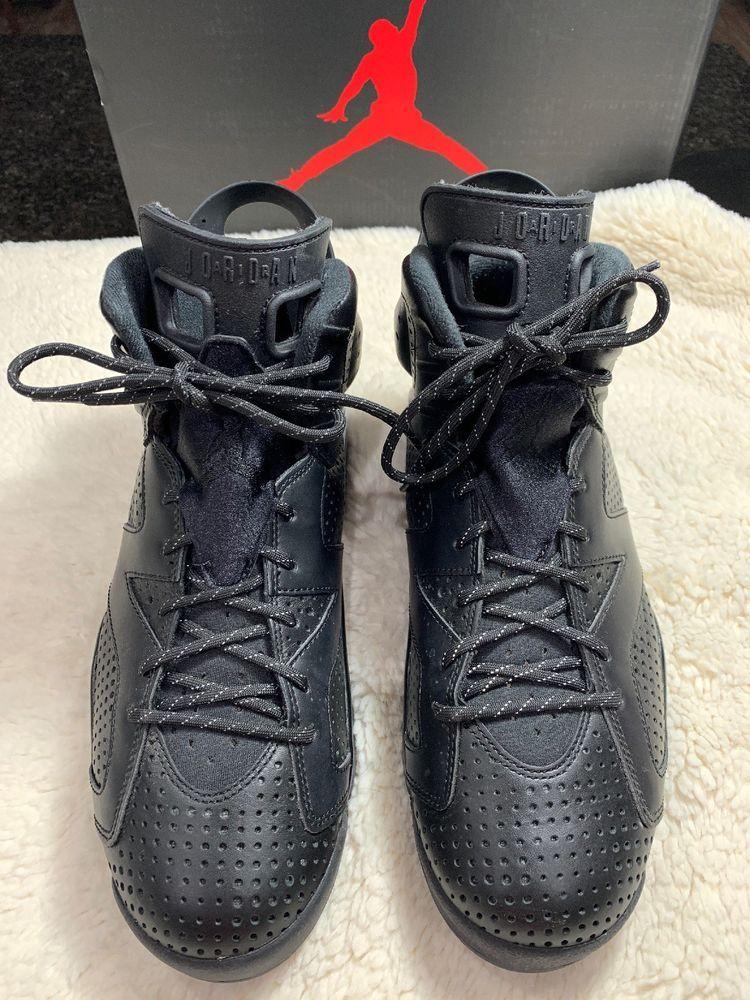 Air Jordan Retro VI 6 Black Cat SIZE 9 fashion clothing