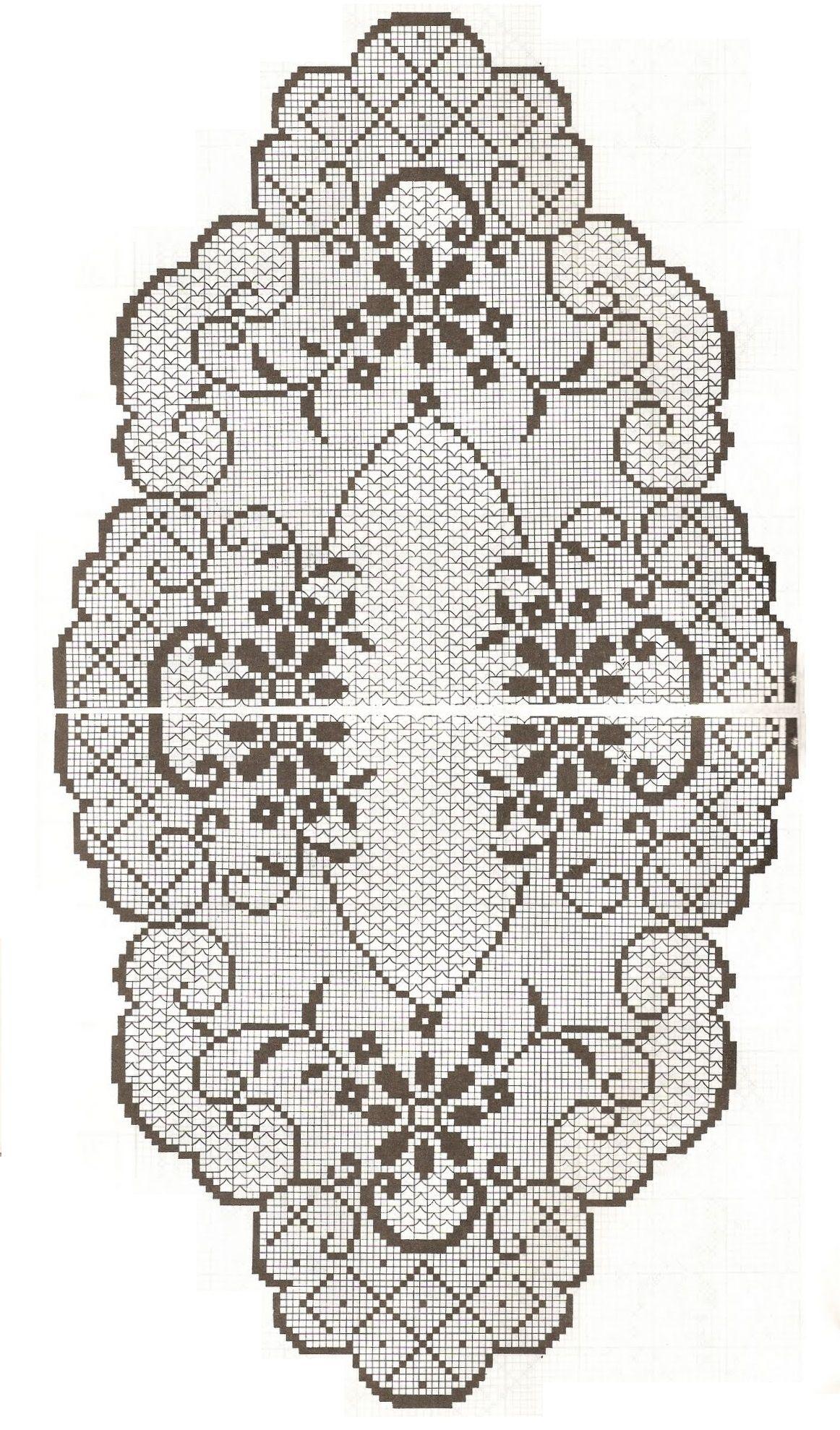 Pin von claudia roxana auf manteleria crochet | Pinterest | Deckchen ...