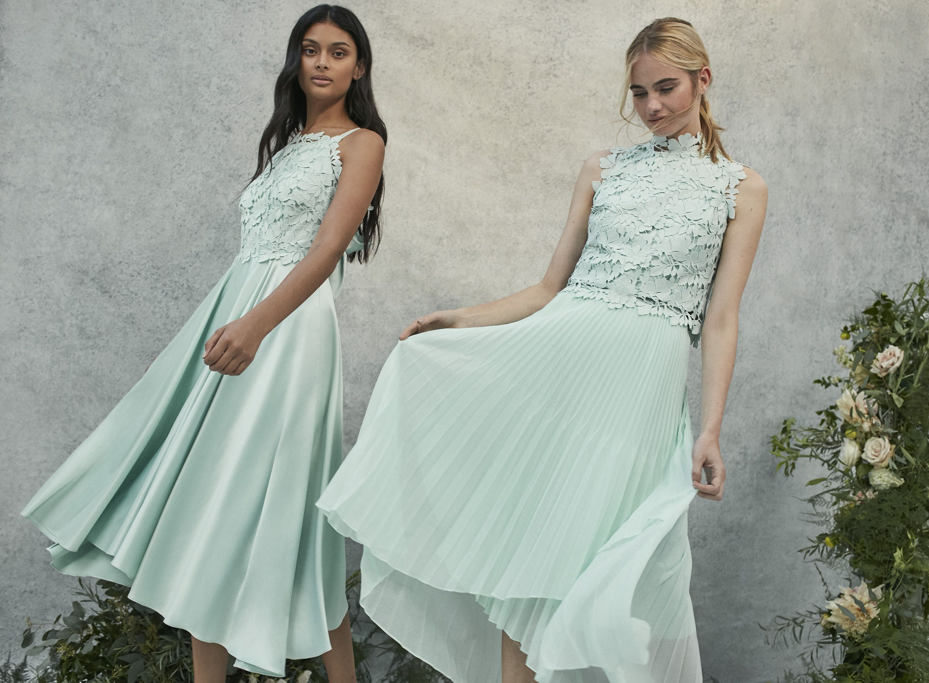 Coast 2018 Bridesmaids Collection | Green Bridesmaids Dresses ...
