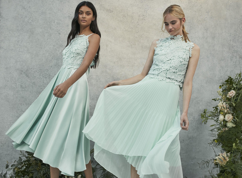 Coast 2018 Bridesmaids Collection | Green Bridesmaids Dresses ...