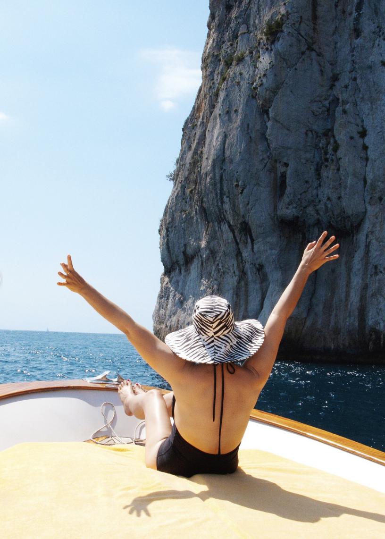 Trina Turk in Capri   Trina turk, Trina, Fashion