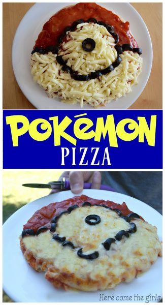 Pokemon pizza - Here Come the Girls