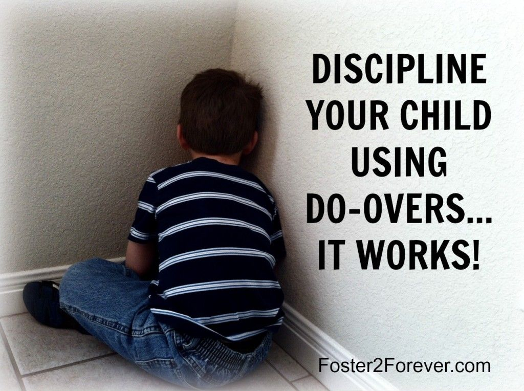Discipline your child with do-overs
