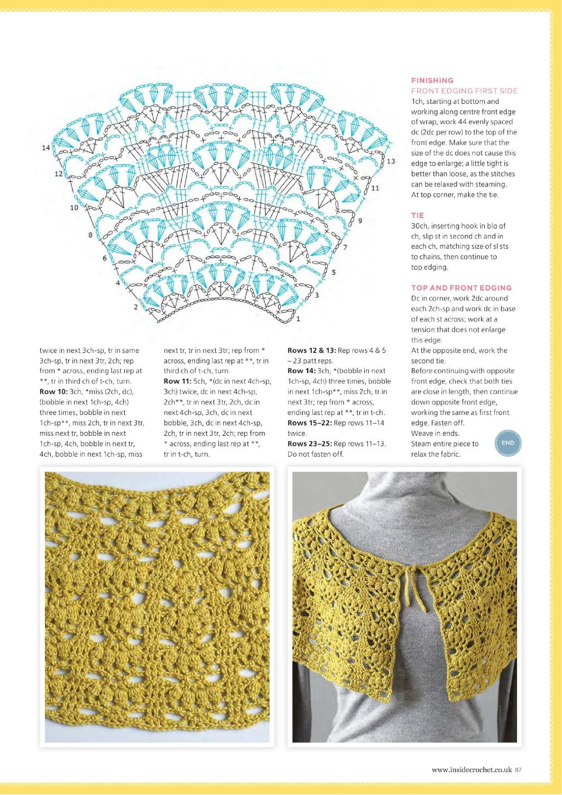 Page_00087.jpg | Crochet shawl,ponchos,,wrap,shrug | Pinterest ...