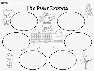 Free: The Polar Express Bubble Maps (based on the story by
