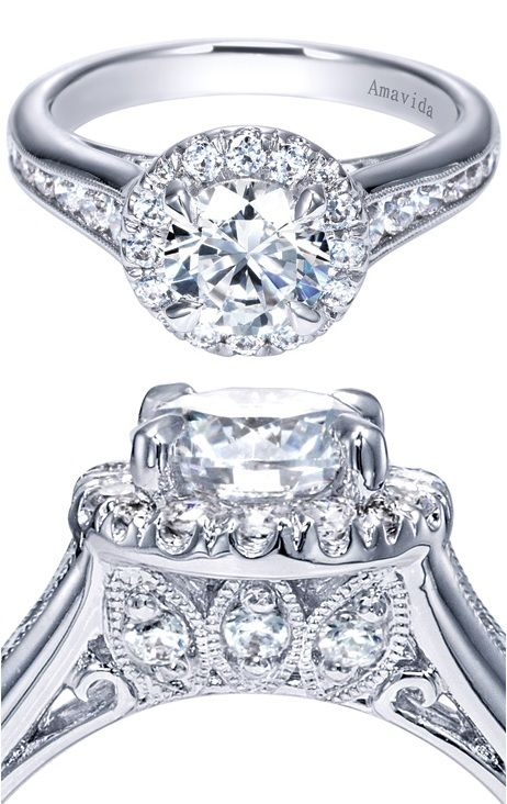 ring grande rings goldsmith engagement amavida diamond gabriel band co halo products jewelry by triple shoppe