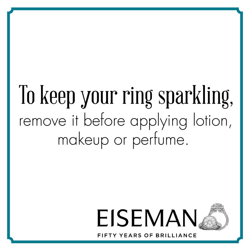 Eiseman Jewels Sparkling Suggestion!   Eiseman Bridal   Engagement Ring   Diamonds   Jewelry   Tips