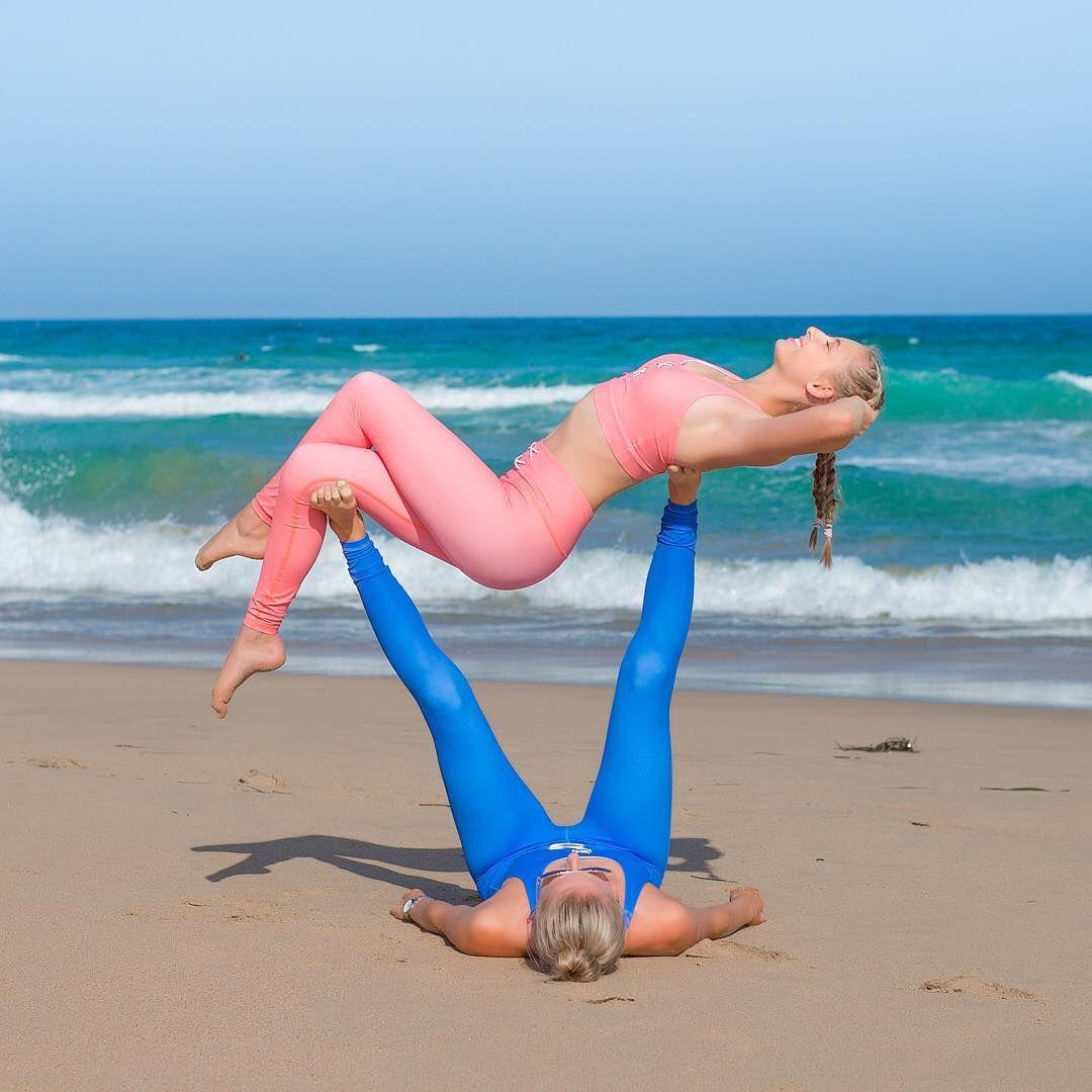 Yoga Challenge Partner Easy Yoga Couple Challenge Partner Acro Yoga Yoga Friends Partner Yoga Challenge Two People Yoga Poses Couples Yoga Yoga Poses For Two